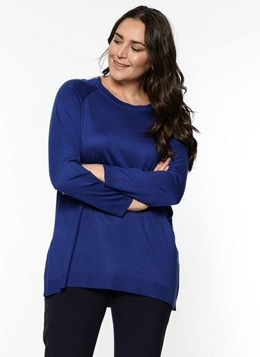 Butik Triko 2316 Basic Bluz Saks